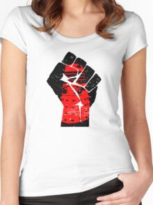 Final Resistance Women's Fitted Scoop T-Shirt