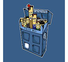 Doctor who cigarette Photographic Print