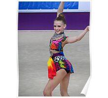 Rhythmic Gymnast - Jasmine Kerber - USA Poster