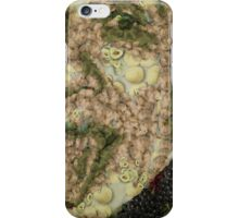 Albert Einstein Sticking His Tongue Vegetables Art iPhone Case/Skin