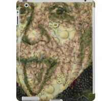 Albert Einstein Sticking His Tongue Vegetables Art iPad Case/Skin