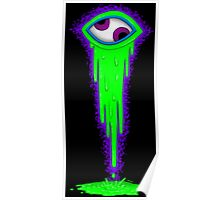 Crazy Eye - Green Poster