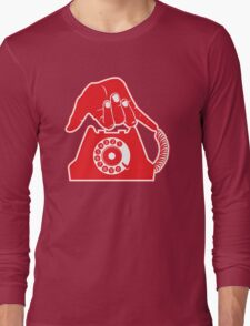 Telephone - Hand Gestures Long Sleeve T-Shirt
