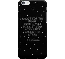 Shoot For The Moon iPhone Case/Skin