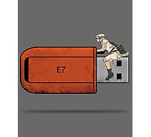 USB Rider Photographic Print