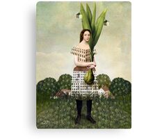 The Gardener Canvas Print