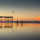 Saltburn Sunset by Tony Shaw