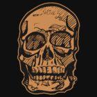 Pumpking Skull by Frank Allen