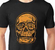 Pumpking Skull Unisex T-Shirt