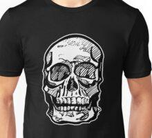 Bleached Skull Unisex T-Shirt