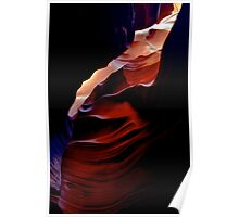 Antelope Canyon Colors Poster