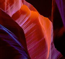 Antelope Canyon forms by Gianni Cicalese