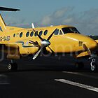 Beech Super King Air 200: Mellow in Yellow by justbmac