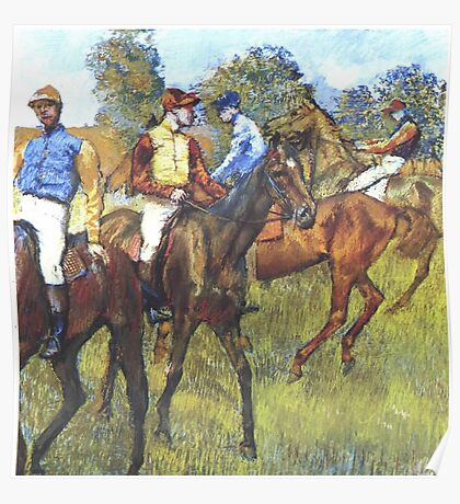 Edgar Degas French Impressionism Oil Painting Poster