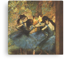 Edgar Degas French Impressionism Oil Painting Ballerina Canvas Print