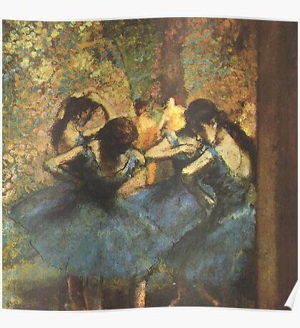 Edgar Degas French Impressionism Oil Painting Ballerina Poster