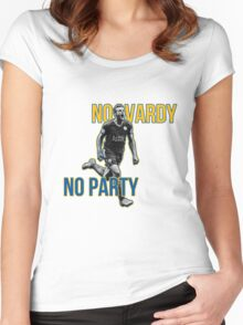 No Vardy No Party Women's Fitted Scoop T-Shirt