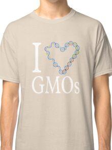 I Love (heart) GMOs Classic T-Shirt