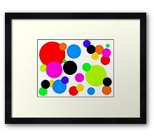 Tamsins Dots Framed Print
