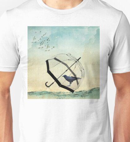 black rain Unisex T-Shirt