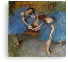 Edgar Degas French Impressionism Oil Painting Dancers Canvas Print