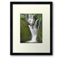 Dyfi Furnace Waterfall Framed Print