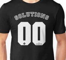 99 problems? 00 solutions! *White* Unisex T-Shirt