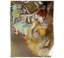 Edgar Degas French Impressionism Oil Painting Dancers Poster