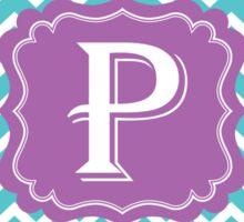 Chevron P Sticker