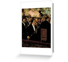 Edgar Degas French Impressionism Oil Painting Ballet Greeting Card