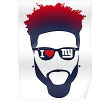 Odell Beckham Jr - New York Giants Poster