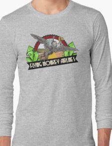 Wizard of Oz Inspired - Flying Monkey Airlines - Flying Monkeys - Airline Parody Design - OZ  Long Sleeve T-Shirt