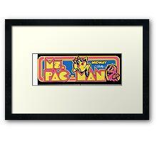 Do you miss Pac, Man? Framed Print