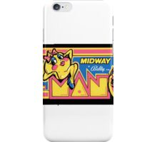 Do you miss Pac, Man? iPhone Case/Skin