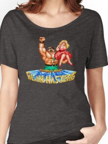 Saturday Night Slam Masters: Mike Haggar Women's Relaxed Fit T-Shirt