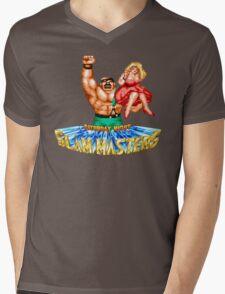 Saturday Night Slam Masters: Mike Haggar Mens V-Neck T-Shirt