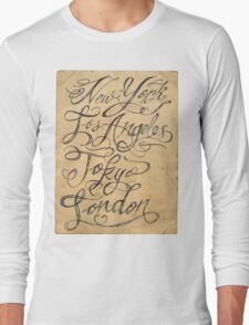 freehand cities Long Sleeve T-Shirt