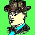 Vintage Brown Hat by Rob Cox
