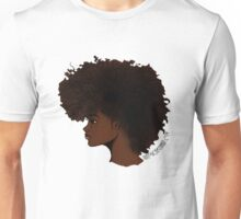 Natural Hair Frohawk Unisex T-Shirt