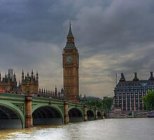 WESTMINSTER BRIDGE - LONDON by MIKESCOTT
