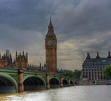 WESTMINSTER BRIDGE - LONDON by MIKESCOTT