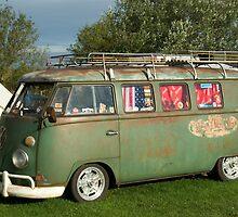 VW Camper Southwold Campsite by Kawka