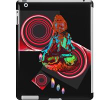 Red Tara with portals and flames. iPad Case/Skin