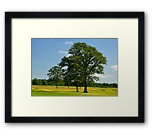 Golf Course View at Carton House, Maynooth. Framed Print