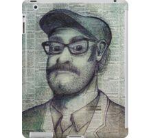 the punter iPad Case/Skin