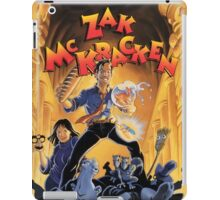 Zac McKracken iPad Case/Skin