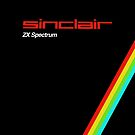 sinclair zx spectrum vintage  by websta