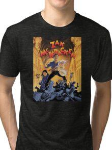 Zak McKracken Tri-blend T-Shirt