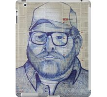 trucker iPad Case/Skin