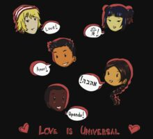 Love is Universal One Piece - Short Sleeve